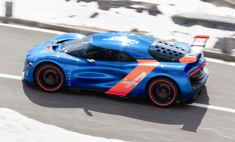 Concept Flashback - 2012 Renault Alpine A110-50 A Blend of M64 and A110 Berlinette 88