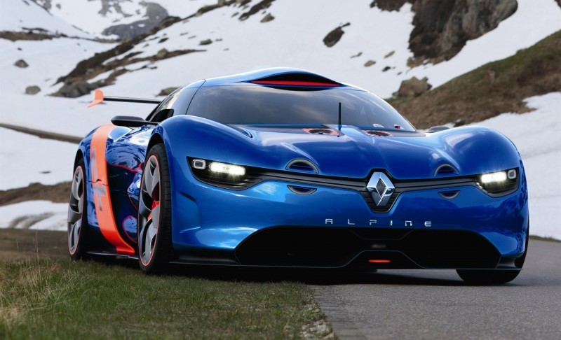 Concept Flashback - 2012 Renault Alpine A110-50 A Blend of M64 and A110 Berlinette 94