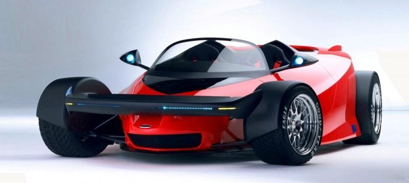 Ford Vision Gran Turismo Seems to Recall the 1996 INDIGO Open-Wheel Supercar Concept 15