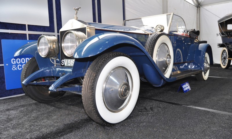 Gooding Pebble Beach 2014 Highlights - 1926 Rolls-Royce Silver Ghost Playboy Roadster 28