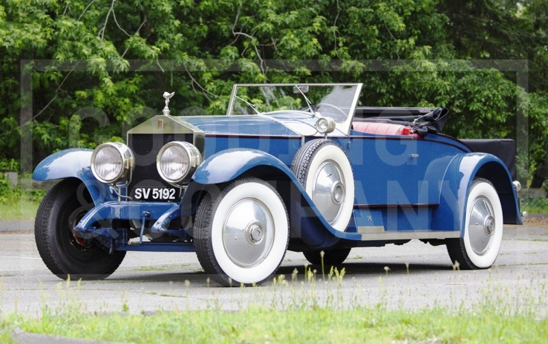 Gooding Pebble Beach 2014 Highlights - 1926 Rolls-Royce Silver Ghost Playboy Roadster 3