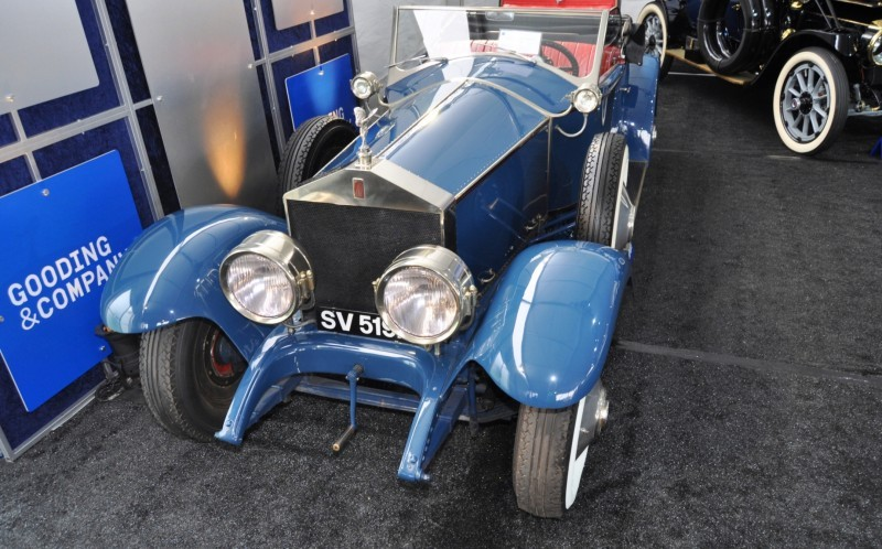 Gooding Pebble Beach 2014 Highlights - 1926 Rolls-Royce Silver Ghost Playboy Roadster 34