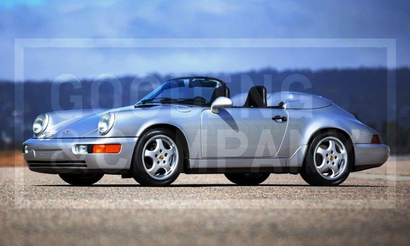 Gooding Pebble Beach 2014 Preview - 1994 Porsche 911 Carrera 3.6 Speedster 1