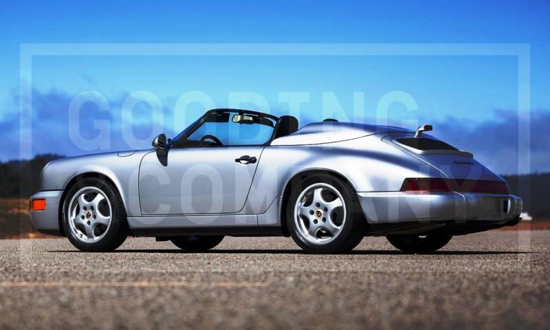 Gooding Pebble Beach 2014 Preview - 1994 Porsche 911 Carrera 3.6 Speedster 6
