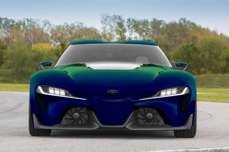 High res FT-1 Digital Colorizer - 150 Shades of 2016 TOYOTA SUPRA TURBO 4