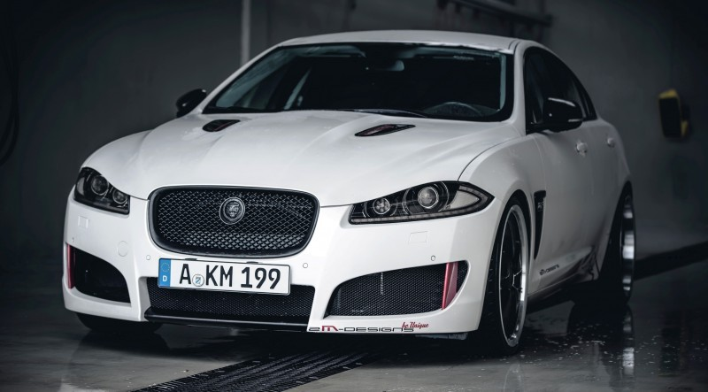 JAGUAR XF by 2M Designs Shows How To Personalize a Jag With Class 11