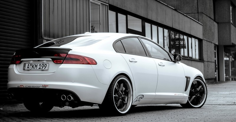 JAGUAR XF by 2M Designs Shows How To Personalize a Jag With Class 12