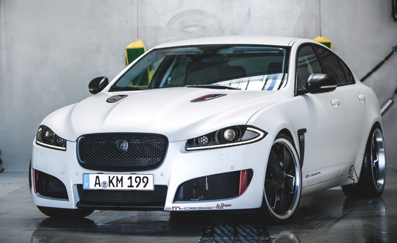 JAGUAR XF by 2M Designs Shows How To Personalize a Jag With Class 18