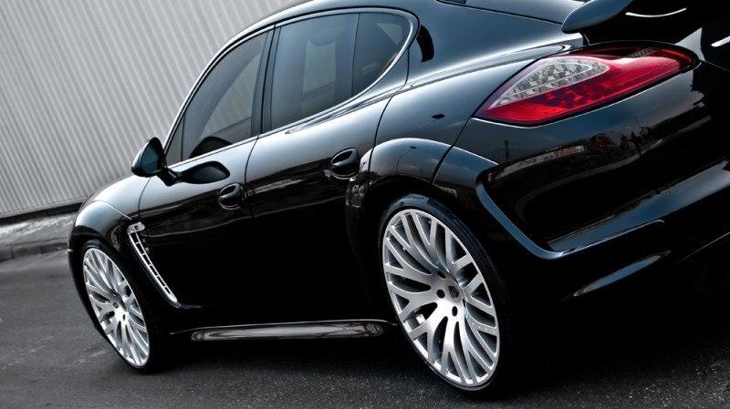 KAHN Design Upgrades - 2010-2014 Porsche Panamera Super Sport Wide Track 7