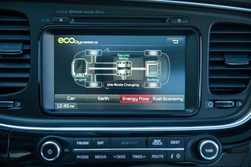 Kia Optima Hybrid Details Photos 3