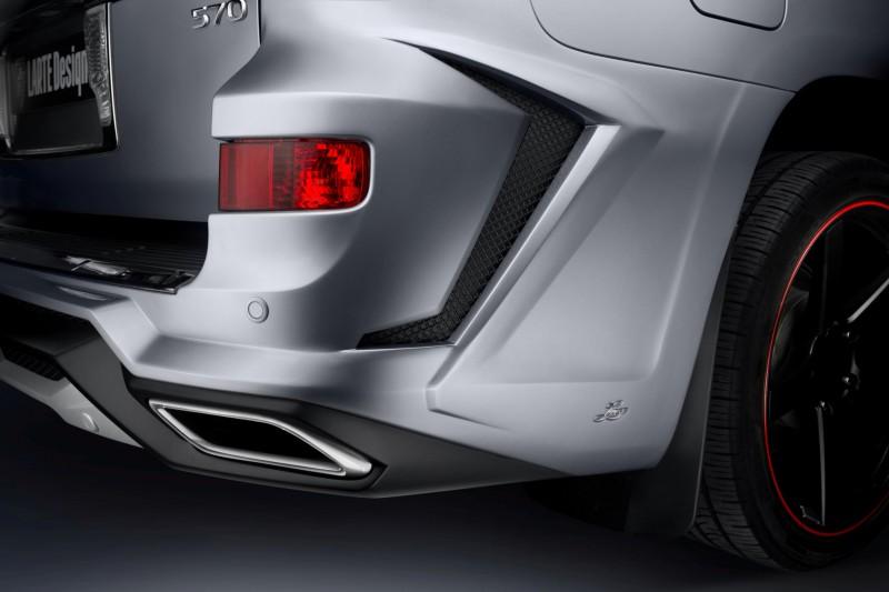 LARTE Design Creates Killer Alligator Upgrade for Lexus LX570 5
