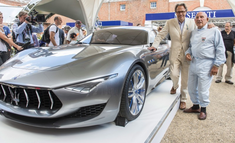 Lord March, Stirling Moss and Alfieri Concept