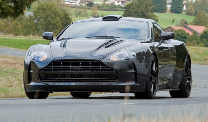 MANSORY Cyrus is Fascinating Carbon Widebody for Aston Martin DB9 and DBS 21