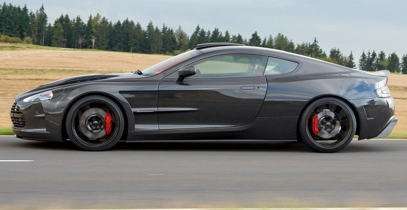 MANSORY Cyrus is Fascinating Carbon Widebody for Aston Martin DB9 and DBS 22