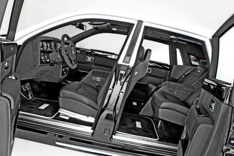 MANSORY Rolls-Royce Phantom Limo and Phantom Drophead Coupe Are 7.5L, V12TT Purebreds 15