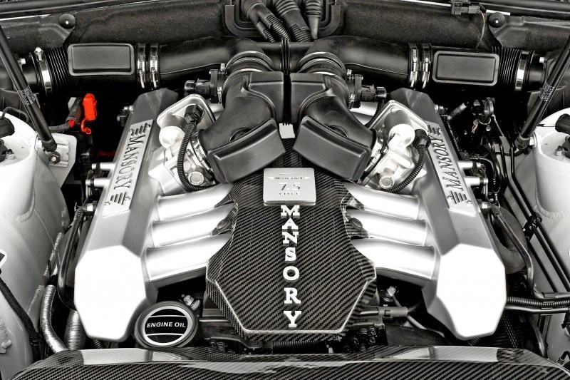 MANSORY Rolls-Royce Phantom Limo and Phantom Drophead Coupe Are 7.5L, V12TT Purebreds 16