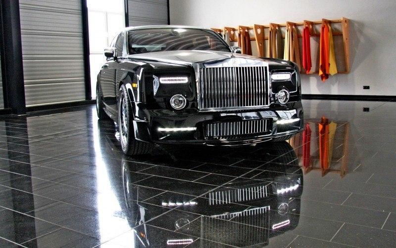 MANSORY Rolls-Royce Phantom Limo and Phantom Drophead Coupe Are 7.5L, V12TT Purebreds 2