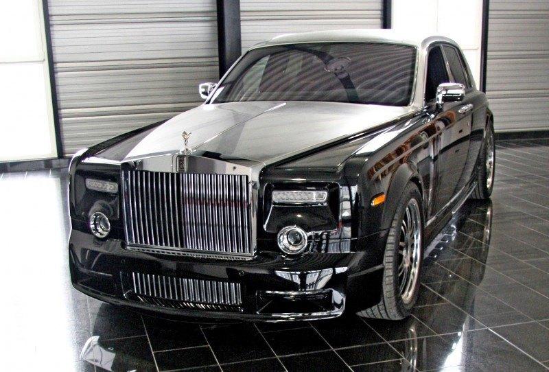 MANSORY Rolls-Royce Phantom Limo and Phantom Drophead Coupe Are 7.5L, V12TT Purebreds 24