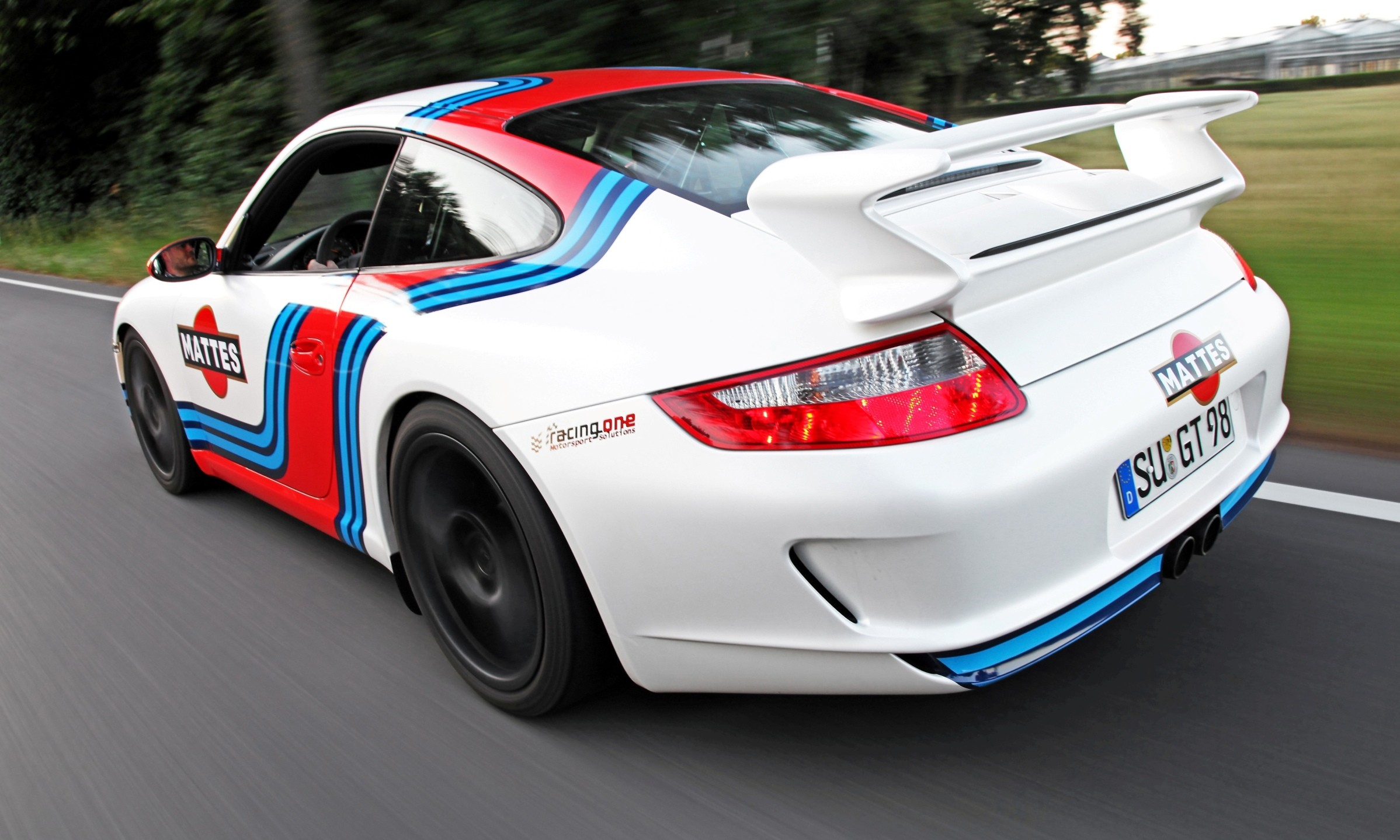 Germany Is Mad For Car Wraps Martini Style Racing Livery