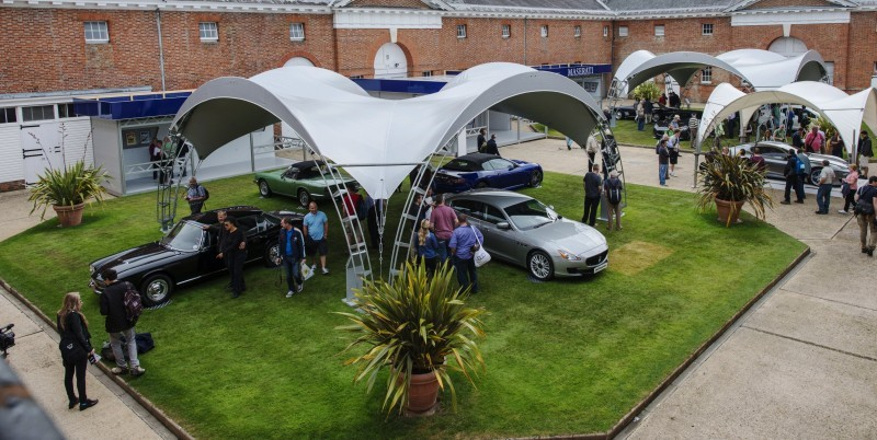 Maserati Centennial Exhibition above
