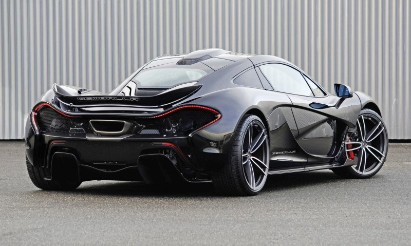 McLaren P1 on GEMBALLA GForged-one Wheels Specially Designed for McLaren 12C, 650S and P1 10