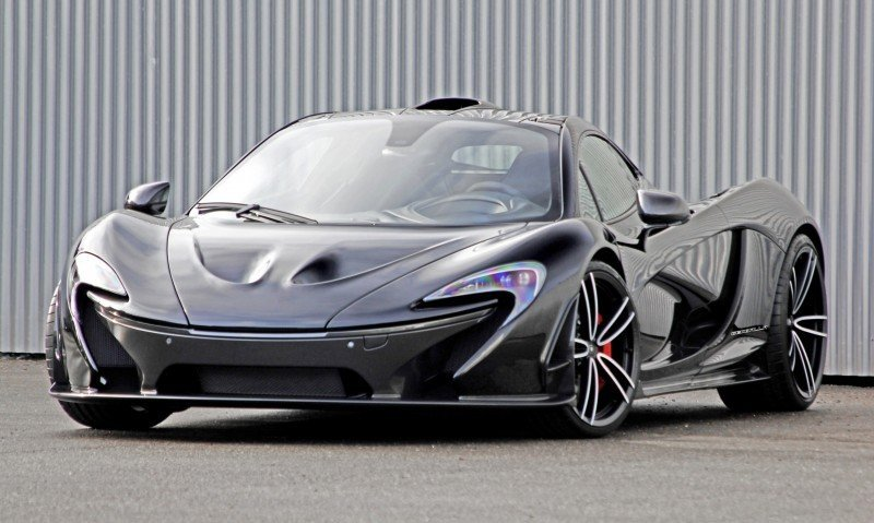 McLaren P1 on GEMBALLA GForged-one Wheels Specially Designed for McLaren 12C, 650S and P1 4