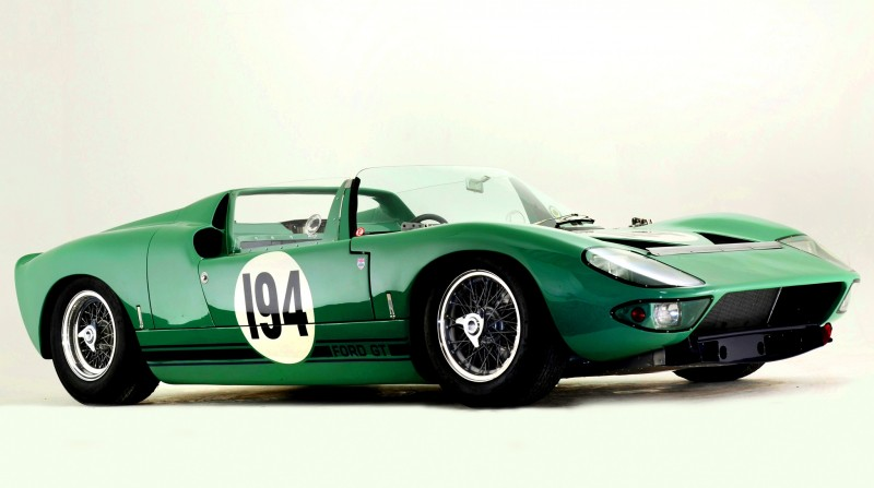 Meet the Original 1964 Ford GT40 Concept and 1965 GT40 Roadster Prototype 1