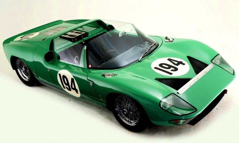 Meet the Original 1964 Ford GT40 Concept and 1965 GT40 Roadster Prototype 12