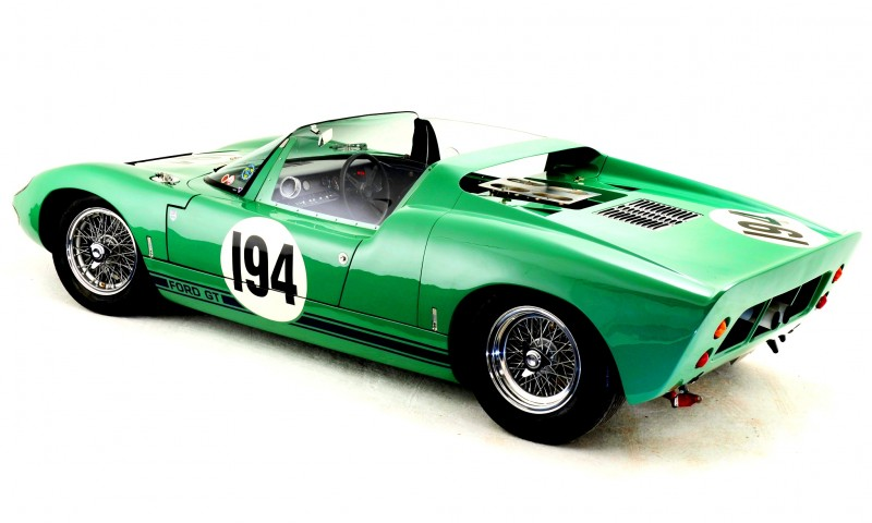 Meet the Original 1964 Ford GT40 Concept and 1965 GT40 Roadster Prototype 15