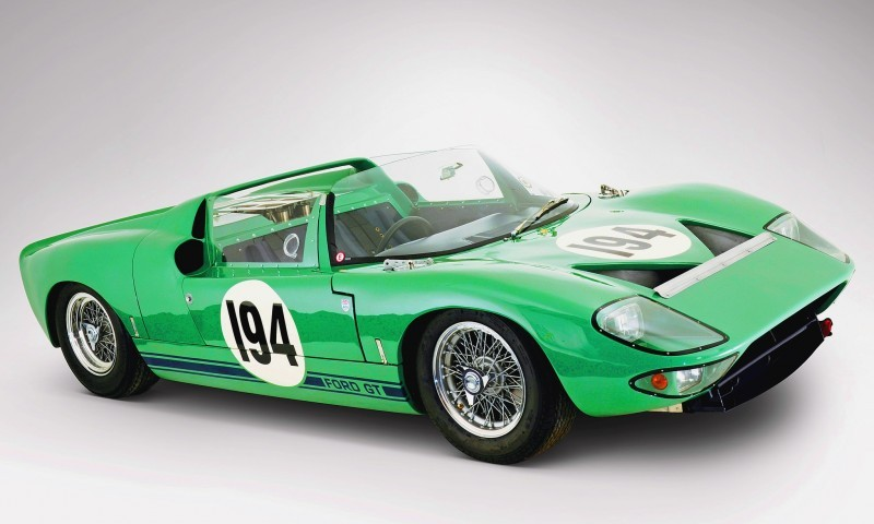 Meet the Original 1964 Ford GT40 Concept and 1965 GT40 Roadster Prototype 16