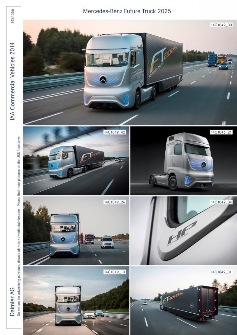 Mercedes-Benz FT2025 Is Daimler Trucks New Tech Flagship 1