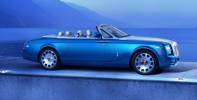 New Rolls-Royce Phantom Drophead Coupe Waterspeed Celebrates Bluebird K3 Record-Breaker 16