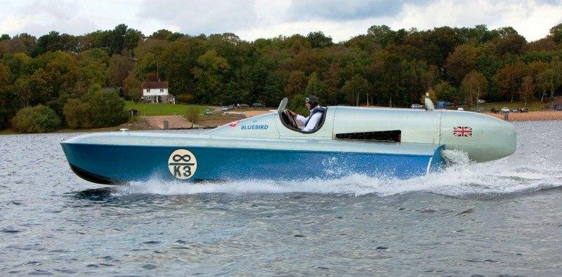 New Rolls-Royce Phantom Drophead Coupe Waterspeed Celebrates Bluebird K3 Record-Breaker 5