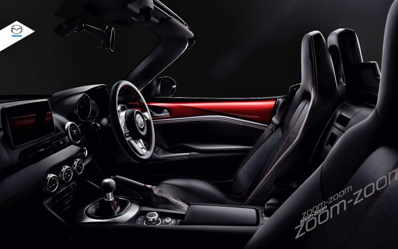 Next-Gen 2016 Mazda MX-5 First Look Shows Lean New Design 12