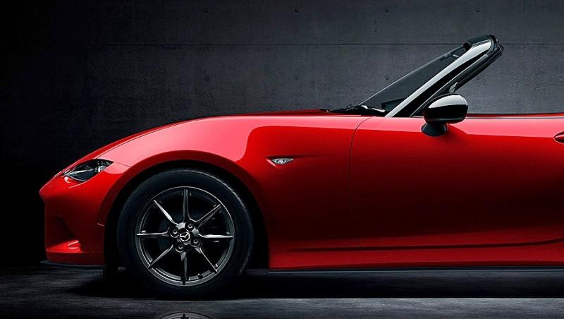 Next-Gen 2016 Mazda MX-5 First Look Shows Lean New Design 7