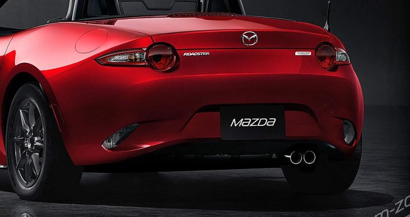 Next-Gen 2016 Mazda MX-5 First Look Shows Lean New Design 9