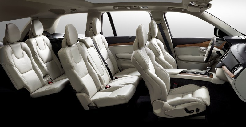 PRODUCTION 2015 VOLVO XC90 Interior First Look 1
