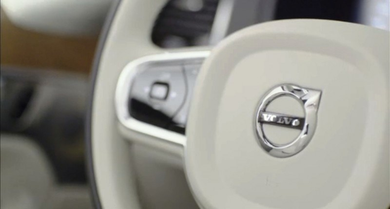 PRODUCTION 2015 VOLVO XC90 Interior First Look 24