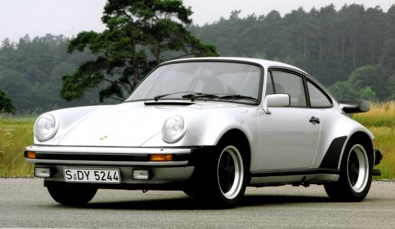 Porsche 911 Turbo Generations 15