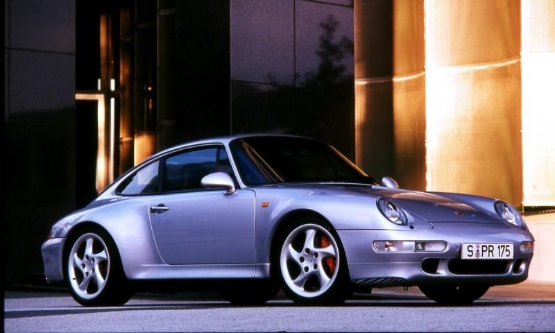 Porsche 911 Turbo Generations 4