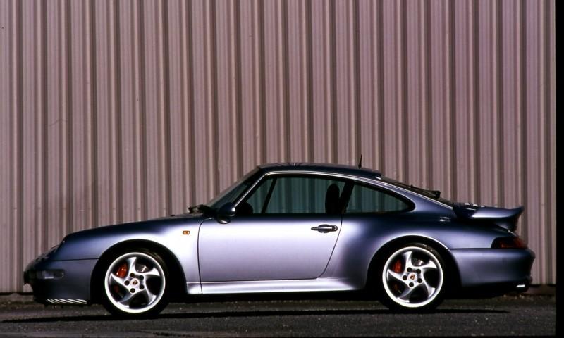Porsche 911 Turbo Generations 5