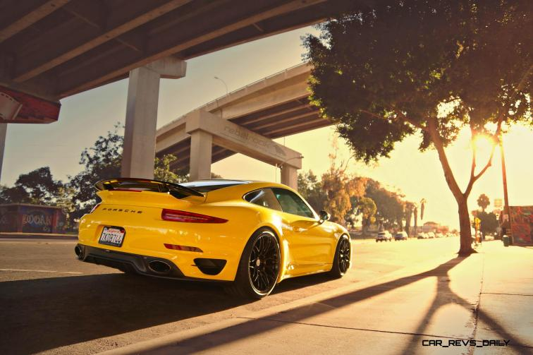 Porsche 991 Turbo S with HRE RC100 in Gloss Black_23878132840_o
