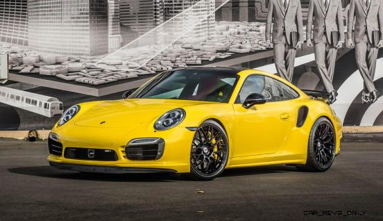 Porsche 991 Turbo S with HRE RC100 in Gloss Black_23955817789_o