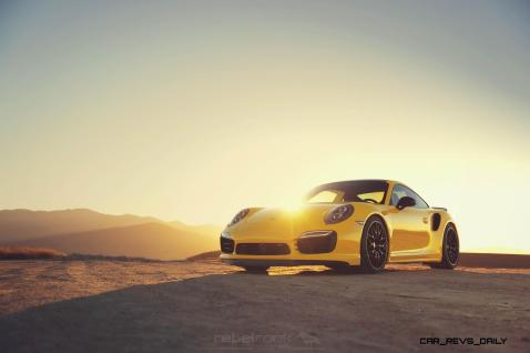 Porsche 991 Turbo S with HRE RC100 in Gloss Black_24147655696_o