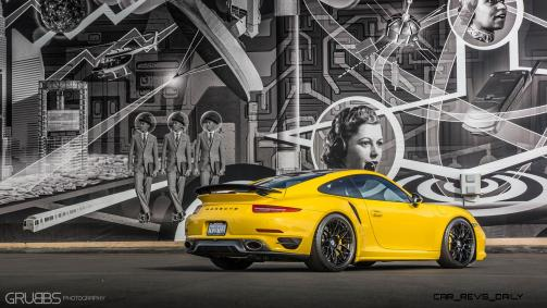 Porsche 991 Turbo S with HRE RC100 in Gloss Black_24241115711_o