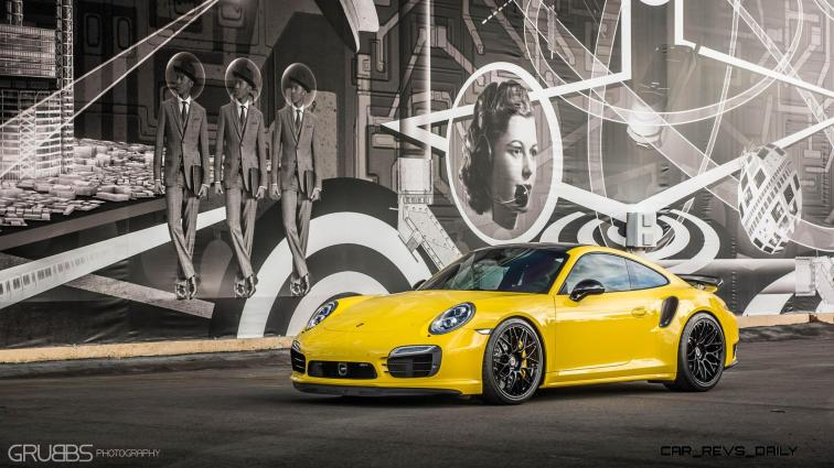 Porsche 991 Turbo S with HRE RC100 in Gloss Black_24241115801_o