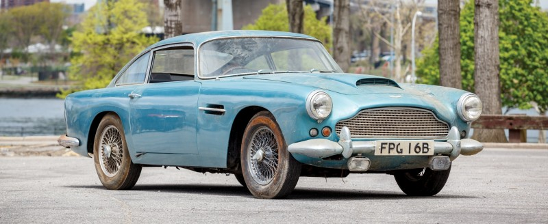 RM Auctions Monterey 2014 Preview - 1961 Aston-Martin DB4 Lost by Castrol Ltd, Found By You 1