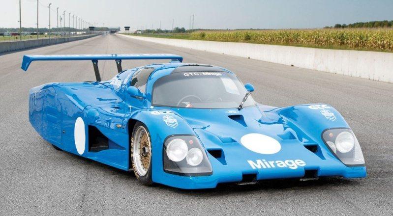 RM Monaco 2014 Highlights - 1982 Mirage M12 Group C Sports Prototype is Aero GT40 1