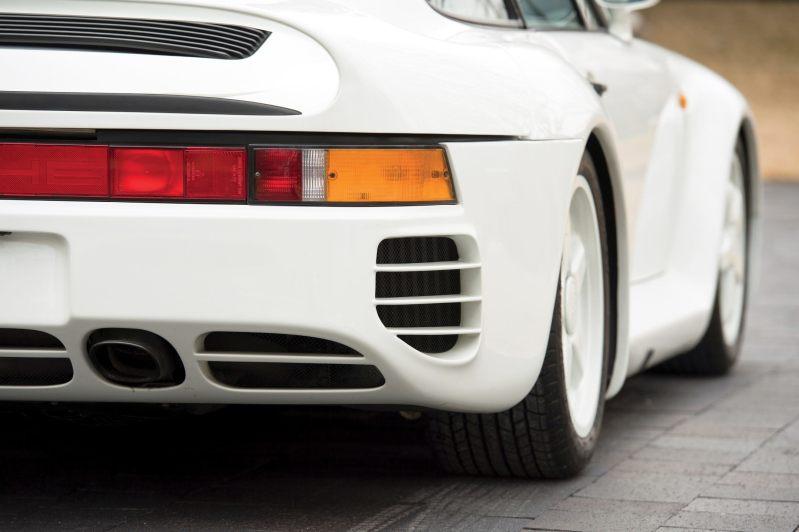 RM Monaco 2014 Highlights - 1985 Porsche 959 Prototype in Bright White Earns $653k 10