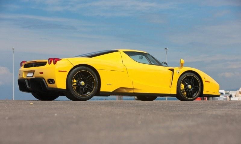 RM Monaco 2014 Highlights - 2003 Ferrari Enzo in Yellow over Black 2